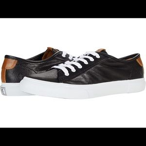 Frye Gia Low Lace Leather Sneakers